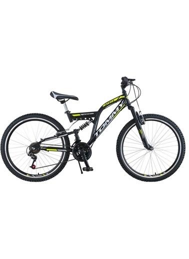 Tommy Bike 26 Double Jant 21 Vitesli Çift Amortisörlü Dağ Bisikleti New Sarı